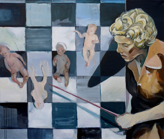 2009, oil on canvas, 135x160cm.
