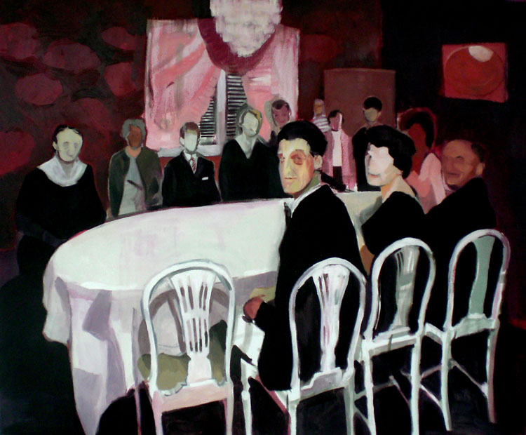 2009, oil on canvas, 120x160cm.